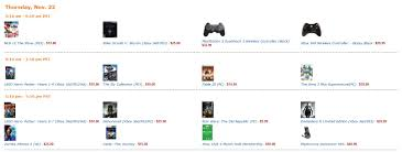 amazon black friday sale schedule amazon black friday deals revealed neogaf