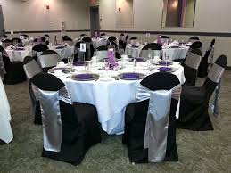 silver chair sashes satin sashes stretch bands chair caps event services
