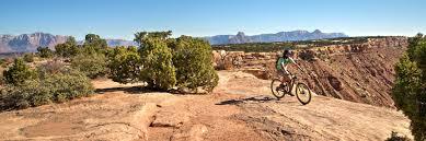 jeep mountain bike rim tours guided mtb tours moab utah colorado arizona