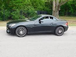 toyota roadster 2017 used mercedes benz amg slc 43 roadster at toyota of