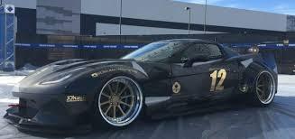 2016 chevrolet corvette zr1 sema 2016 gi automotive black manta corvette gm authority