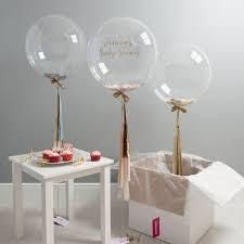 baby shower balloons baby shower confetti balloon by bubblegum balloons