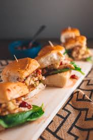thanksgiving staples thanksgiving leftovers sliders with cranberry mango sauce dad