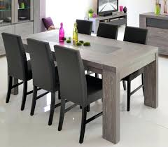 dining table rustic grey dining room set oak table wood gray