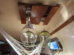 furniture stunning hanging wine glass rack with ceilings and