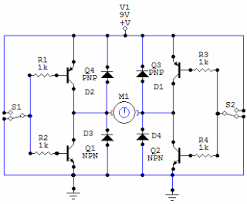 electronic circuits for beginners h bridge circuit