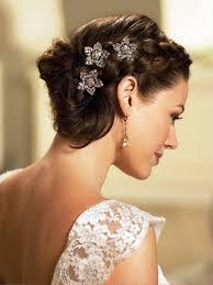 Frisuren F Kurze Haare Hochzeit by Accessoire Hochzeitsfrisur Blumen Feminin Essen Kuchen
