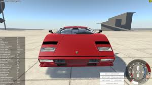 lamborghini back png outdated lamborghini countach beamng