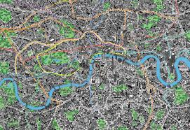 London Maps The Best Illustrated Maps Of London Wanderarti