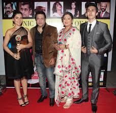 photos govinda with family at an awards ceremony entertainment