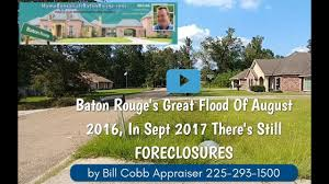baton rouge flooded home appraiser video youtube