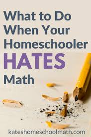 What To Do When Your Child Hates Math Png