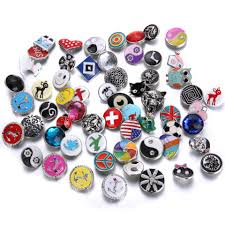 bracelet charms diy images Best new noosa buttons diy jewelry mixed alloy styles glass chunks jpg