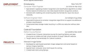 resume what is the best resume font size and format amazing