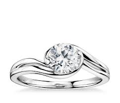 solitaire engagement ring lhuillier eternal solitaire engagement ring in platinum