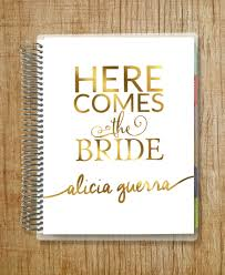 wedding planner agenda metallic gold wedding planner agenda para novia
