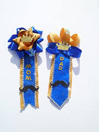 royal blue corsage royal prince baby shower themed corsage for and