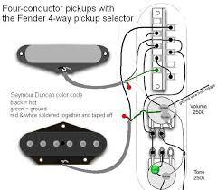 4 way telecaster wiring diagram wiring diagram and schematic design