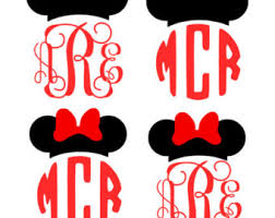 minnie mouse monogram minnie mouse monogram