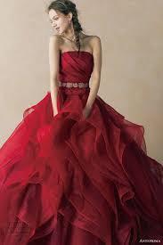 red wedding dress u2013 stray off the mainstream path u2013 carey fashion