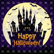 trick or treat halloween scene royalty free stock photography