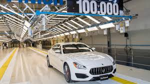 maserati trident car maserati builds 100 000 cars in three years at agap plant