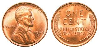 penny s 1944 s lincoln wheat cent bronze composite penny value and prices