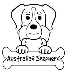 australian shepherd coat colors australian shepherd coloring pages funycoloring