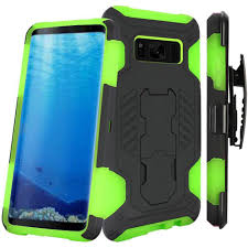 Samsung Galaxy Rugged Samsung Galaxy S8 Mantas Heavy Duty Rugged Case With Stand And