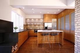 cuisine contemporaine blanche et bois modèle de cuisine contemporaine blanche et bois pour apparier