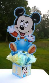 baby mickey baby shower mickey mouse 1st birthday party centerpiece baby mickey baby shower