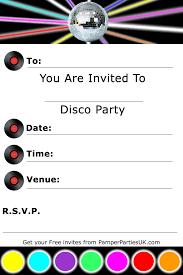 disco party invitations reduxsquad com