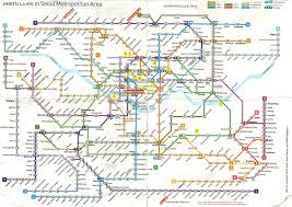 Seoul Metro Map by Transportation Jihaeng Station 지행 Station 104 Foodie To The