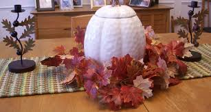 Fall Table Decorations by Fall U0026 Thanksgiving Table Decoration Decorating A Table For