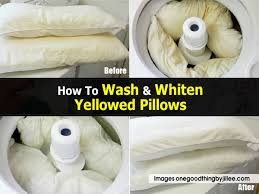 washing pillows in washer 11454