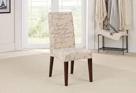 dinning chair covers sure fit stretch pen pal by waverly dining chair slipcover