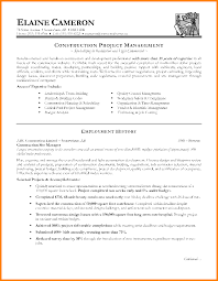 6 1 page project management resume examples cashier resumes