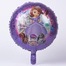 disney sofia foil helium balloon card factory