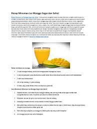 contoh teks prosedur membuat jus mangga 1522153309 v 1