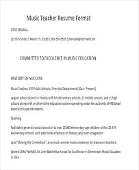 Musical Resume Template Https Images Template Net Wp Content Uploads 201