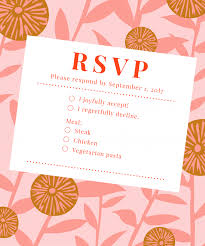what to say on a wedding invitation how to decline wedding invitation say no rsvp etiquette