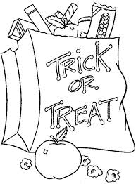 halloween candy coloring pages halloween candy bucket free