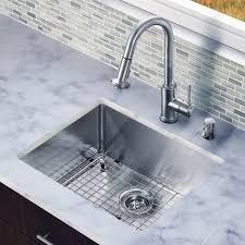 Undermount Stainless Steel Kitchen Sink by Cozy Undermount Stainless Steel Kitchen Sink Come With Silver