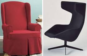 contemporary wing chairs wing chair history ecofloat info within modern plan 2