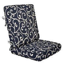paxton denim 2 piece deep seat cushion at home at home