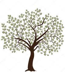 tree symbol abstract tree symbol of nature stock vector imagepluss 8779192