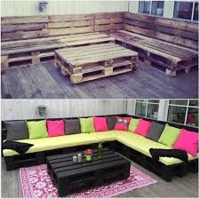 Lounge Benches Diy Amazing Outdoor Pallet Lounge Pallet Furniture Pallet
