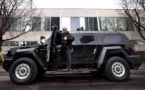 civilian armored vehicles 7 ton 629 000 suv inspires admiration and scorn in toronto the