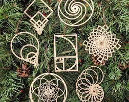 math ornament etsy