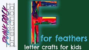 letter f for feathers fun preschool crafts for kids best